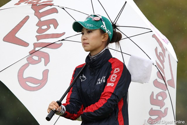 2011年 伊藤園レディスゴルフトーナメント 初日 上田桃子  調子も良さそう2週連続なるか?