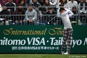 2011年 三井住友VISA太平洋マスターズ 3日目 諸藤将次