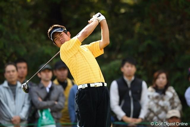 2011年 三井住友VISA太平洋マスターズ 3日目 池田勇太 松山君の勢いに圧され心なしか元気がなかった勇太。