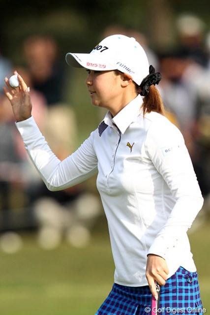 2011年 伊藤園レディスゴルフトーナメント 2日目 古閑美保 残念ですが今日が関東地方最後となってしまいました