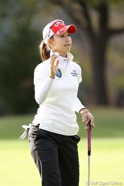 2011年 伊藤園レディスゴルフトーナメント 2日目 上田桃子 先週から・・・良いです・・・成長?