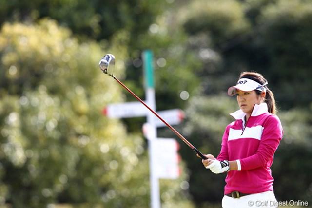 2011年 伊藤園レディスゴルフトーナメント 2日目 藤本麻子 期待されてる優勝を・・・