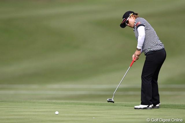 2011年 伊藤園レディスゴルフトーナメント 2日目 馬場ゆかり ハーフ自己ベストの30!トップとは1打差