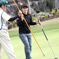 バーディで締めくくり 2011年 伊藤園レディスゴルフトーナメント 2日目 米山みどり