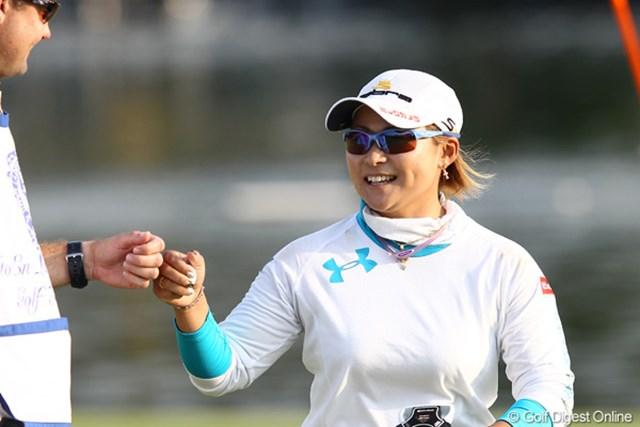 2011年 伊藤園レディスゴルフトーナメント 最終日 馬場ゆかり スコアを落しても這い上がる馬場ゆかりは終盤の4連続バーディで単独2位