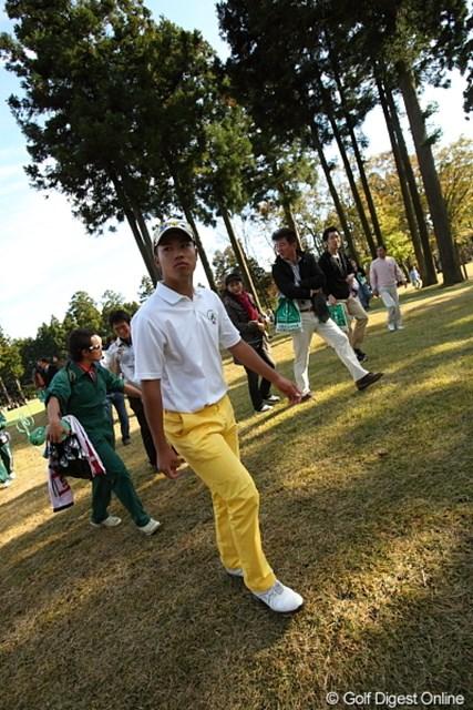 2011年 三井住友VISA太平洋マスターズ 最終日 松山英樹 さぁ、あと2ホールで大会史上初のアマチュアチャンプ誕生か?