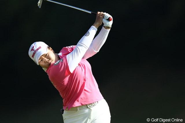 2011年 伊藤園レディスゴルフトーナメント 最終日 アン・ソンジュ 賞金女王確定は持ち越し・・・