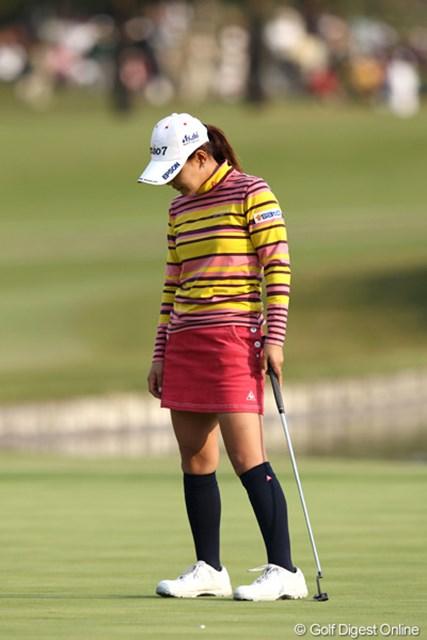 2011年 伊藤園レディスゴルフトーナメント 最終日 横峯さくら 「本当にゴルフは最後まで何が起こるかわからない」