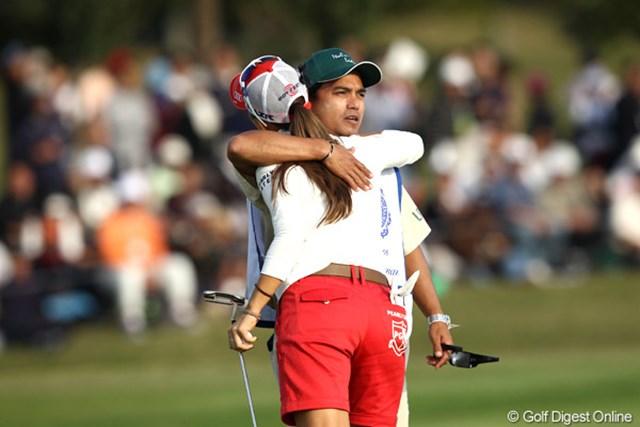 2011年 伊藤園レディスゴルフトーナメント 最終日 上田桃子 良い3日間だったようです