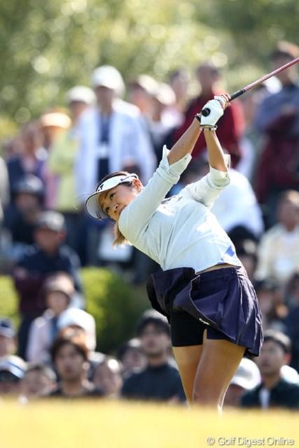 2011年 伊藤園レディスゴルフトーナメント 最終日 藤本麻子 ようやく初優勝、おめでとう!