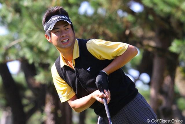2011年 ダンロップフェニックストーナメント 事前  池田勇太 フェニックスが好きという池田勇太は楽しみながらラウンドをしていた