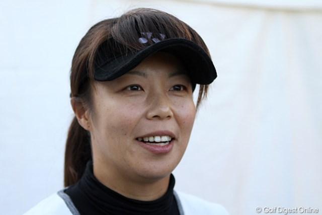 2011年 大王製紙エリエールレディスオープン 事前 米山みどり 突然の引退表明。ツアー7勝の実力者だけにそのインパクトは小さくなかった。