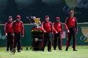 2011年 ザ・プレジデンツカップ 初日 ARMYたち