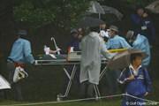 2011年 大王製紙エリエールレディスオープン 2日目 ケガ人