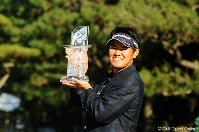 2011年 ダンロップフェニックストーナメント 最終日 武藤俊憲 最終日に8ストローク伸ばし逆転優勝を果たした武藤俊憲