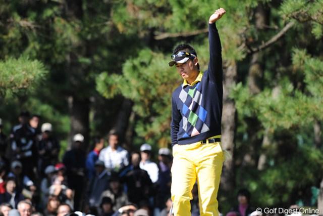 2011年 ダンロップフェニックストーナメント 最終日 松山英樹 ティショットに安定感はあったが、スコアを崩し43位タイの松山英樹