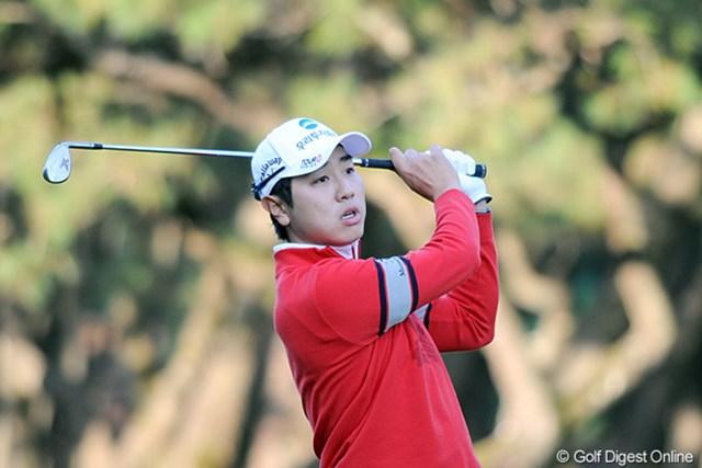 2011年 ダンロップフェニックストーナメント 最終日 ベ・サンムン 31位タイで自身の日本ツアー今季最終戦を終えたベ・サンムン