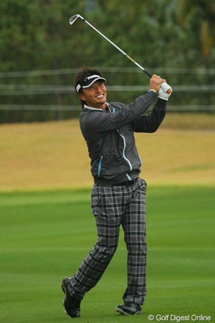 2011年  カシオワールドオープンゴルフトーナメント 事前 宮本勝昌 今季は不振にあえいだ宮本勝昌。大記録継続へがけっぷちだ