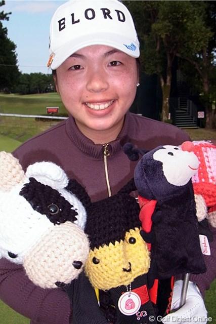 2011年 LPGAツアーチャンピオンシップリコーカップ事前情報 フォン・シャンシャン 中国の実力者、フォン・シャンシャンは取材対応もとっても気さく。いい人です