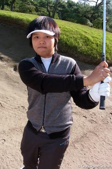 2011年 LPGAツアーチャンピオンシップリコーカップ事前情報 野村敏京 今週、やる気ランキングはトップ3!シード入りを目指す野村敏京