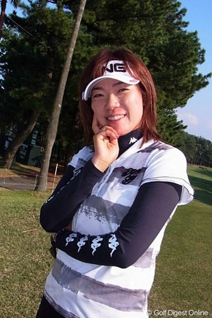 2011年 LPGAツアーチャンピオンシップリコーカップ事前情報 大山志保 地元宮崎での最終戦に4年ぶりの凱旋となった大山志保