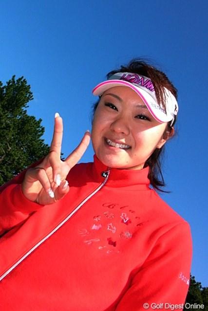 2011年 LPGAツアーチャンピオンシップリコーカップ事前情報 藤田幸希 撮影した11月22日は26歳の誕生日。おめでとう!