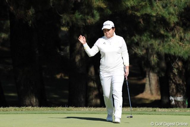 2011年 LPGAツアーチャンピオンシップリコーカップ 初日 朴仁妃 今週からパターを替えて、それが見事にはまっているという朴仁妃