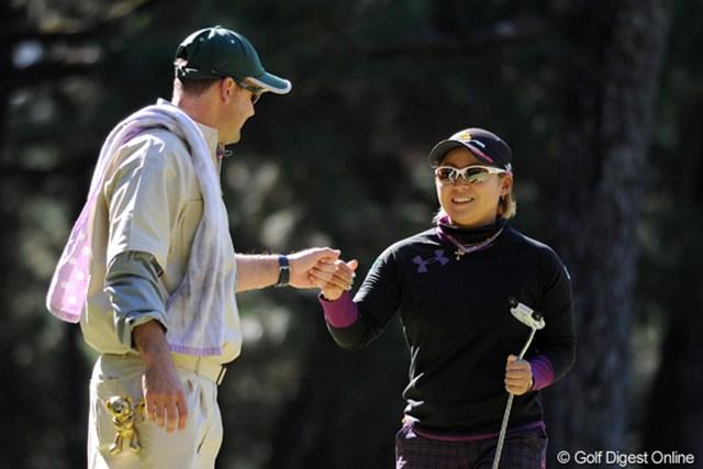 2011年  LPGAツアーチャンピオンシップリコーカップ 初日 馬場ゆかり  メジャーチャンプの意地(?)で、凌ぎ切ったっちゅう感じかなァ・・・。9位T