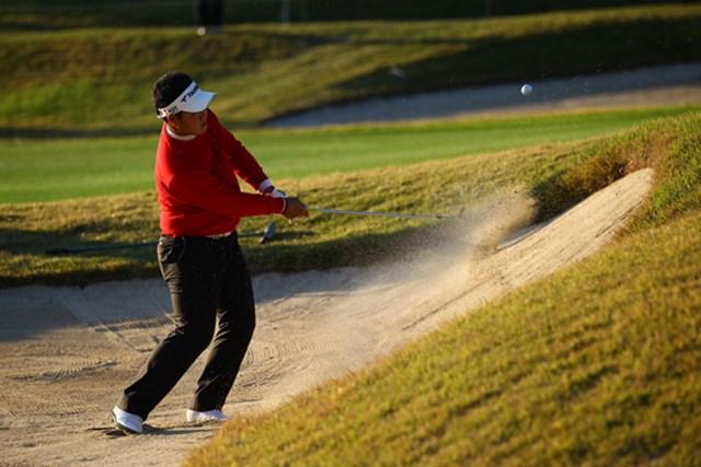 後半のゴルフが本当にもったいなかったです。2アンダー8位タイ。