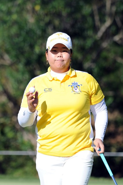 2011年  LPGAツアーチャンピオンシップリコーカップ 2日目  アン・ソンジュ  毎回書くけど、やっぱ強いなァ。さすがは賞金女王ですワ。これも毎回のように書くけど、やっぱ本命でしょう!3位