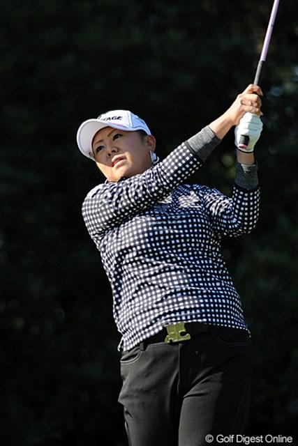 2011年  LPGAツアーチャンピオンシップリコーカップ 2日目 佐伯三貴  さすがはミキチ~や!初日の77で「?」と思とったんやけど、賞金ランク上位者の意地を見せてくれましたワ。15位T