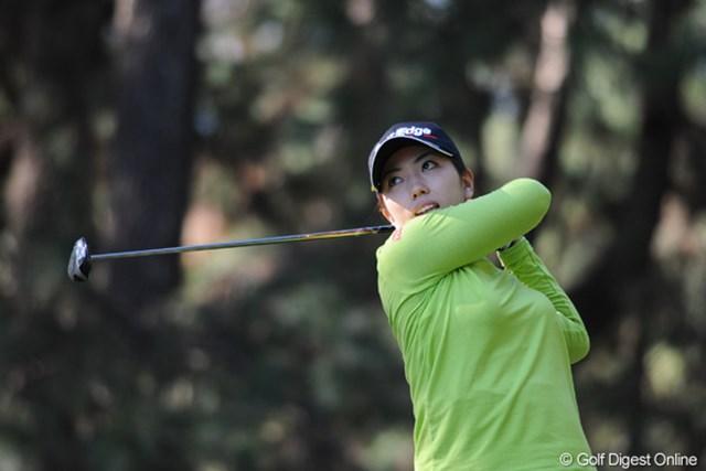 2011年  LPGAツアーチャンピオンシップリコーカップ 2日目 笠りつ子  笠りつ子