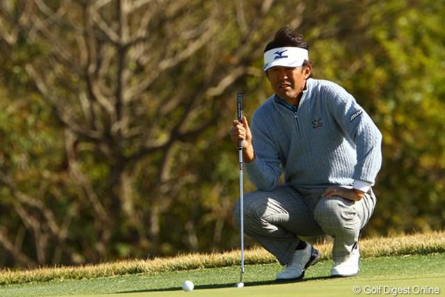 2011年 カシオワールドオープンゴルフトーナメント2日目 鈴木亨 故障に泣いた今季。最後まで望みをつないだ鈴木亨だったが、現役選手最長の記録にピリオド。