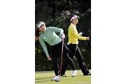 2011年 LPGAツアーチャンピオンシップリコーカップ 3日目 有村智恵&大山志保