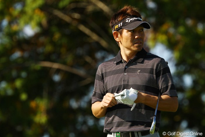 まだ腰が痛そうな様子でのラウンド。残念ながら3つスコアを落とし、24位タイへ後退。また明日、がんばって欲しいですね。 2011年 カシオワールドオープンゴルフトーナメント 3日目 田中秀道