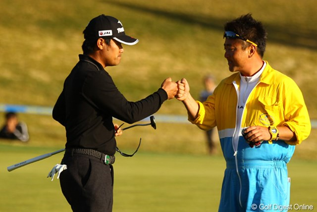 2011年 カシオワールドオープンゴルフトーナメント 3日目 宮里優作 プロ10度目の最終日最終組を前にしても宮里優作は揺るがない