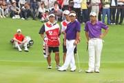 2011年 オメガミッションヒルズワールドカップ 3日目 平塚哲二、池田勇太、リース・デービス