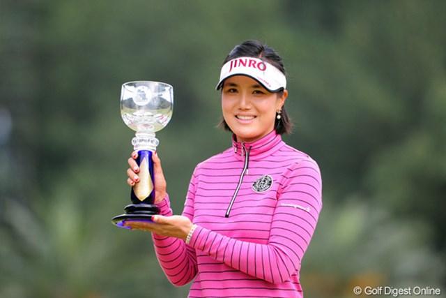 2011年 LPGAツアーチャンピオンシップリコーカップ 最終日 全美貞 08年のリベンジを果たし自身初のメジャータイトルを獲得した全美貞
