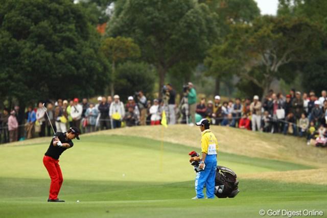 決勝ラウンドでチャージをかけた石川遼だったが、今季初勝利へは届かなかった。