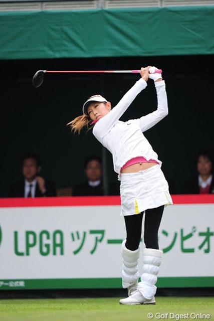 2011年 LPGAツアーチャンピオンシップリコーカップ 最終日 金田久美子 最終日2アンダー オメ~!やっぱりチカラありますやん!キンパパもクミちゃんも来年またよろしくで~す!