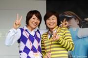 2011年 LPGAツアーチャンピオンシップリコーカップ 最終日 吉崎千晃、山下久美