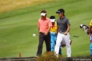 2011年 カシオワールドオープンゴルフトーナメント 最終日 上井邦浩