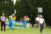 2011年 カシオワールドオープンゴルフトーナメント 最終日 高山忠洋と宮里優作