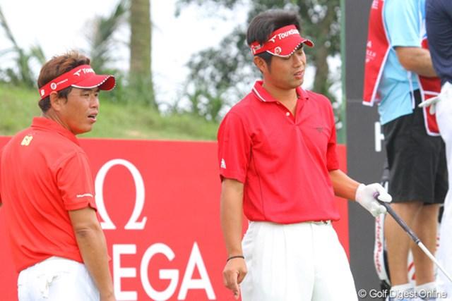 2011年 オメガミッションヒルズワールドカップ 最終日 平塚哲二 池田勇太 後半は浮かない表情ばかりが目立ってしまった・・・