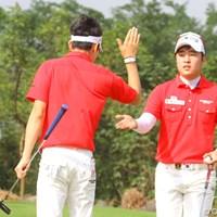 スコアを4つ伸ばして9位タイに食い込んだ韓国 2011年 オメガミッションヒルズワールドカップ 最終日 キム・ヒョンソン 朴星俊
