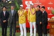 2011年 オメガミッションヒルズワールドカップ 最終日 マット・クーチャー ゲーリー・ウッドランド