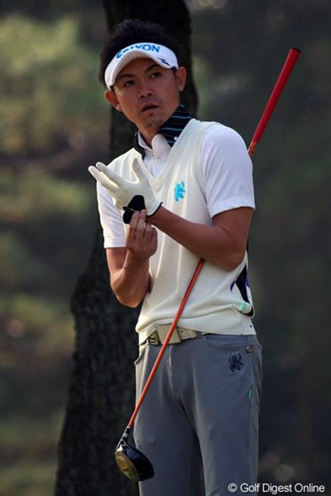 今季ブレークした諸藤将次。選ばれしものが集う最終戦も豪快なショットを放つ 2011年 ゴルフ日本シリーズJTカップ 事前  諸藤将次