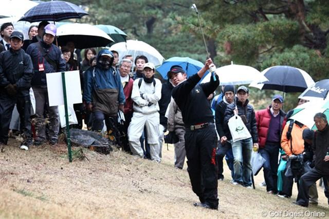 松山英樹はこの日も強心臓振りを発揮して無難な位置で2日目に入る
