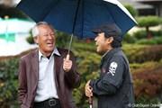 2011年 ゴルフ日本シリーズJTカップ 3日目 青木功 片山晋呉