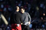 2011年 ゴルフ日本シリーズJTカップ 最終日 藤田寛之 谷口徹